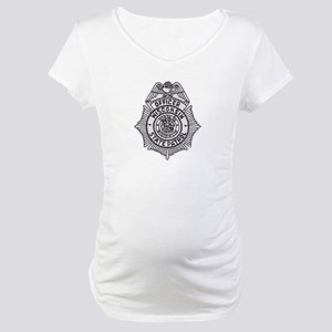 Wisconsin State Patrol Maternity T-Shirt