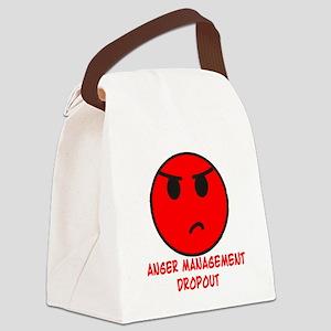Anger Management Dropout Canvas Lunch Bag