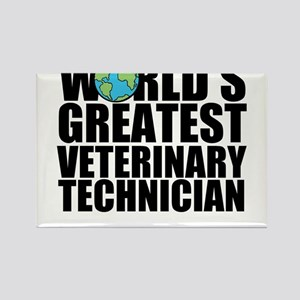 World's Greatest Veterinary Technician Magnets