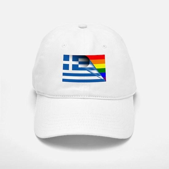 Greece Gay Pride Rainbow Flags Hat