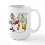 The Masonic Shop Comic Large Mug