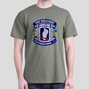 173rd Infantry Logo Dark T-Shirt