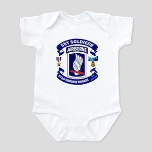 173rd Infantry Logo Infant Bodysuit