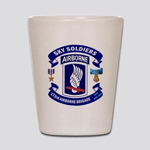173rd Infantry Logo Shot Glass
