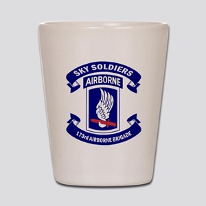 Offical 173rd Brigade Logo Shot Glass