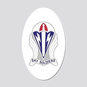 Unit Insignia: 173rd Airborn 20x12 Oval Wall Decal