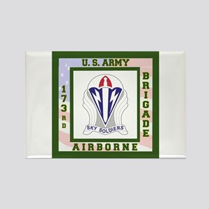 Airborne! 173rd Brigade Rectangle Magnet