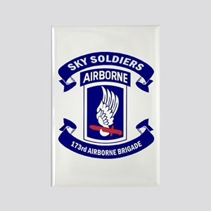 Offical 173rd Brigade Logo Rectangle Magnet