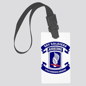 Offical 173rd Brigade Logo Large Luggage Tag