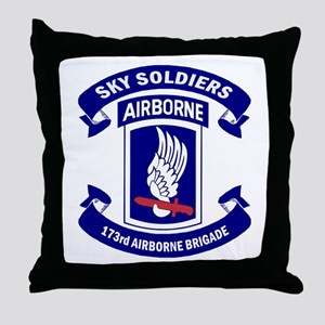 Offical 173rd Brigade Logo Throw Pillow