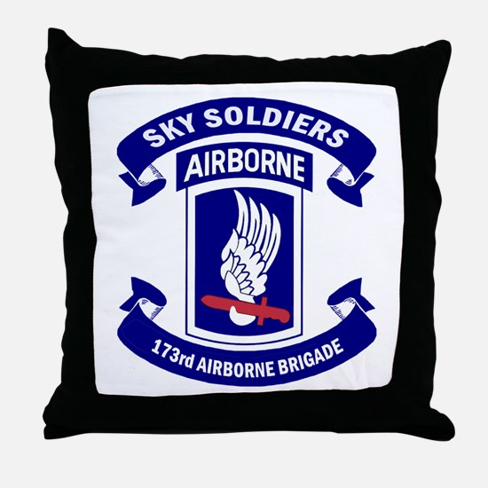 Offical 173rd Brigade Logo Throw Pillow
