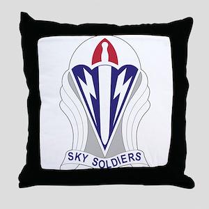 Unit Insignia: 173rd Airborne Throw Pillow