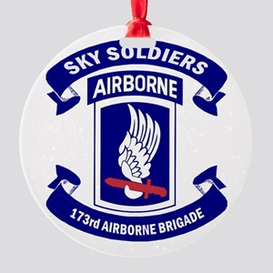 Offical 173rd Brigade Logo Round Ornament