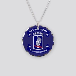 Offical 173rd Brigade Logo Necklace Circle Charm