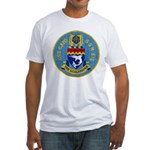 USS GATO Fitted T-Shirt