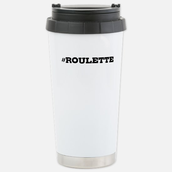 Roulette Hashtag Travel Mug