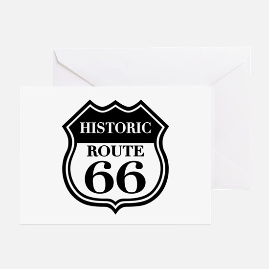 Historic Rte. 66 Greeting Cards (Pk of 10)