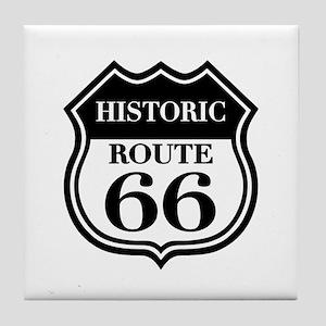 Historic Rte. 66 Tile Coaster
