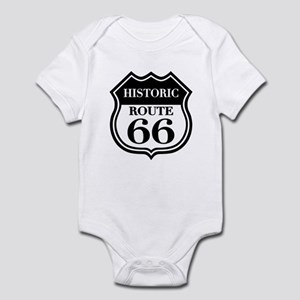 Historic Rte. 66 Infant Bodysuit