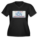 North Carolina NDN Pride Women's Plus Size V-Neck