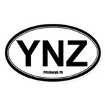 YNZ Sticker - White