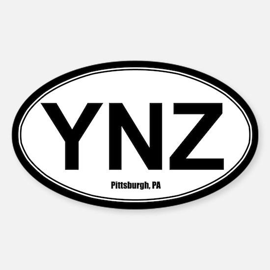 YNZ Sticker - White