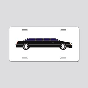 Limo Aluminum License Plate