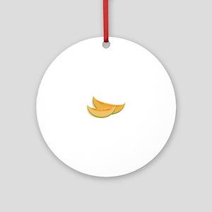 Cantaloupe Ornament (Round)