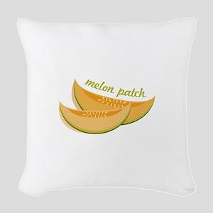 Melon Patch Woven Throw Pillow