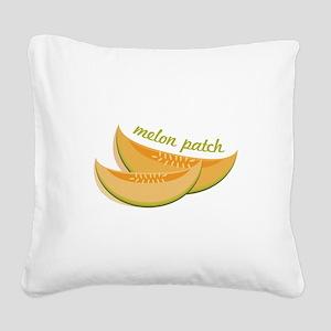 Melon Patch Square Canvas Pillow