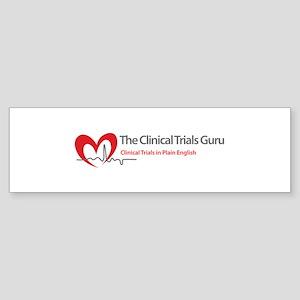 The Clinical Trials Guru Bumper Sticker