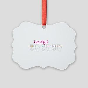 Beautiful Braces Ornament