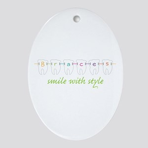 Smile With Style Ornament (Oval)