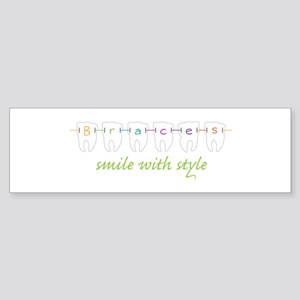 Smile With Style Bumper Sticker