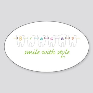 Smile With Style Sticker