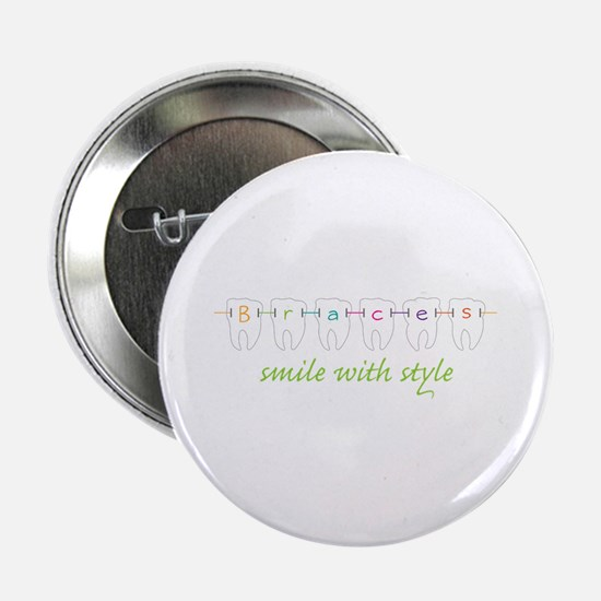 "Smile With Style 2.25"" Button"