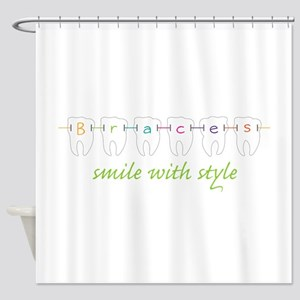 Smile With Style Shower Curtain