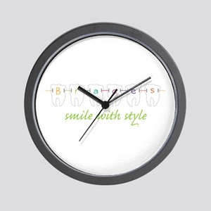 Smile With Style Wall Clock
