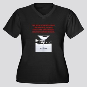 singapore sling Plus Size T-Shirt