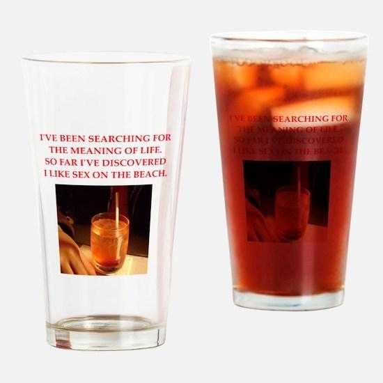 sex on the beach Drinking Glass