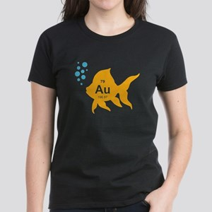 Periodic Table Elemental Gold Fish T-Shirt