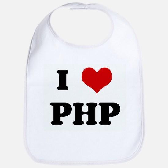 I Love PHP Bib