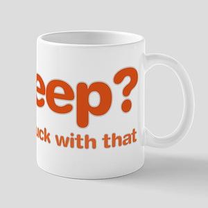 Sleepluck Orange Mug