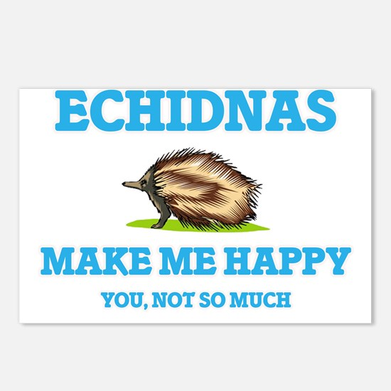 Echidnas Make Me Happy Postcards (Package of 8)