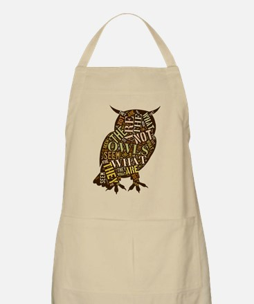 The Owls Are Not What They Seem Apron