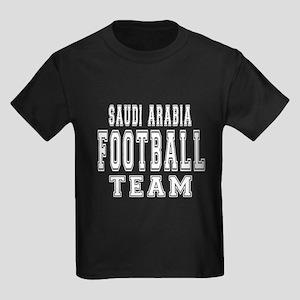 Saudi Arabia Football Team Kids Dark T-Shirt