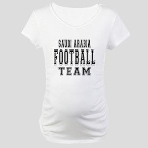 Saudi Arabia Football Team Maternity T-Shirt