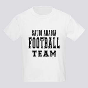 Saudi Arabia Football Team Kids Light T-Shirt