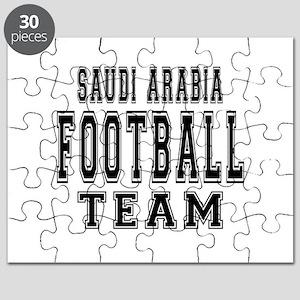 Saudi Arabia Football Team Puzzle