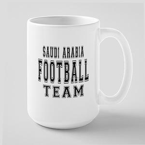 Saudi Arabia Football Team Large Mug